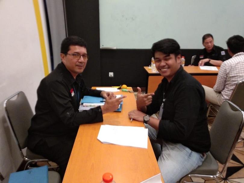 Uji Kompetensi MICE Fasilitasi Dinas Pariwisata & Ekonomi Kreatif Prov. DKI Jakarta Tanggal 26 Februari 2020